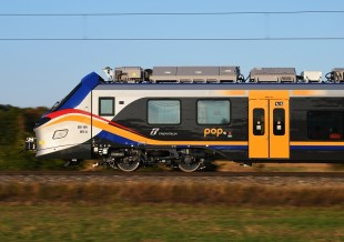 Alstom POP for Trenitalia in Velim