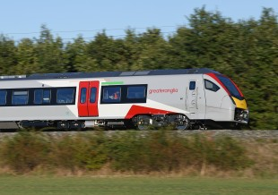 FLIRT BMU for Greater Anglia in Velim