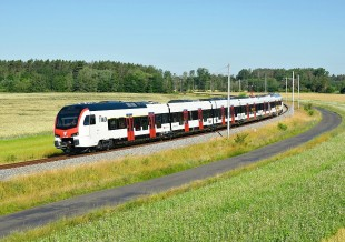 Stadler TILO trains on tests in CZ